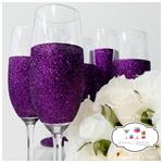 Glitter Mix and Match Wedding Glasses - Rio