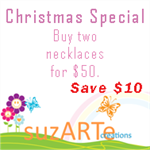 ~Special Christmas offer on necklaces **Save$10**