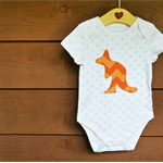 Kangaroo Baby Onesie AUSTRALIA DAY Clothing Childrens Wear Babygrow