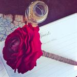 Ranunculus Guest Book Pen