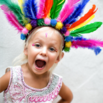 Childs Carnival Headpiece