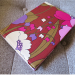 Vintage Fabric Notebook Journal Cover