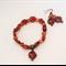 Carnelian Bracelet and Earring Set