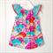 Bright Hills Flutter Sleeve Dress Size 1