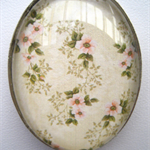 OLD WORLD OVAL PENDANT LARGE SHABBY CHIC