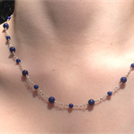 Sterling Silver / Lapis Lazuli necklace