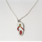 Summery Red Sandal Necklace