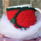 SALE Stocking Filler Red and Green Mug Cosy ~ Ready to post