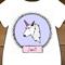 Unicorn Personalised Onesie // Bodysuit // Babygrow // Birthday Gift Girls Wear