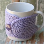 Stocking Filler ~ Lavender  Mug Cosy ~ Ready to post