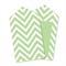 Chevron Green Tags x12