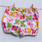 Size 0-3M - Pretty Butterflies Shorties Nappy Cover - Baby, Girl - ready to post