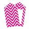 Chevron Hot Pink Tags x12