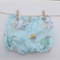 Size 0-3M - Minty Bunnies Shorties Nappy Cover - Baby, Harem - ready to post