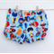 Size 6-12M - Super heroes Shorties Nappy Cover - ready to post