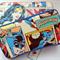 Super Heroes baby wipes case, travel case, Baby shower gift, newborn gift