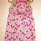 Girls dress 1 - 2 yrs  featuring cherry print on pink background