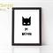 I Am Batman Print - 8x10' Professionally Printed