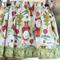 Girls Reversible Skirt Christmas Size 3