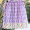 Girls Reversible Skirt Bicycles  Size 8