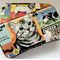 Cats and Dogs baby wipes case, travel case, Baby shower gift, newborn gift