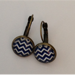 Chevron   Design Earrings
