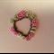 Charm button bracelet