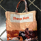 Upcycled Sheep Nuts Feed Bag Bag