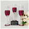 Bridesmaid Champagne Toasting Flutes and Gift Boxes - Lace