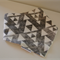 Baby Bandana Bib with Bamboo Fleece - Spoonflower designs Black Triangles