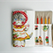 Pencil Roll Cute Cats Pencil Roll Includes Quality Staedtler Pencils