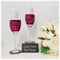 Bride and Groom to Be Champagne Toasting Flutes and Gift Boxes - Lace