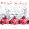 Skrubs $50 Gift Certificate Handmade Natural Organic Beauty Products Body Scrubs