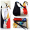 Hobo Handbag Purse & Wristlet SET in wild bird Echino Fabric