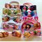 SALE 10% OFF 10 Pack Mixed Character  Hairbow Elastics Tangled Frozen