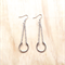 LARGE SILVER HORSESHOE EARRINGS - FREE SHIPPING WORLDWIDE