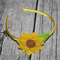 Yellow Sunflower Hard Headband