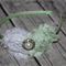 Shabby Chic Flowers on a Coloured Hard Headband with Assorted Embellishment