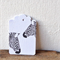 Gift Tags - set of 10 - zebras