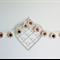 Shabby Chic Flower Acrylic Crochet Garland Bunting