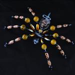 Mozzie coil holder spider