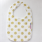 Bib - Buy any 3 get the 4th free / Michael miller Metalic gold