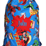 Library bag - Personalised Boys Marvel