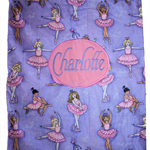 Library bag - Personalised Girls - Ballet / Dance