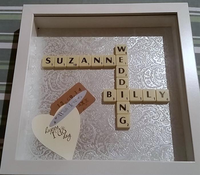 PERSONALISED SCRABBLE ART FRAMES FOR WEDDINGS   Scrabble Art by ...