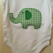Little Green Elephant Onesie