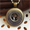 'Francisco' Personalised Photo and Handstamped copper silver pendant