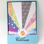 "Birthday Card - ""Celebrate"""
