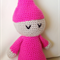 Baby Girls Sleeping Doll, Pink