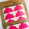 54 Clouds - Vinyl Removable Wall Decal Stickers